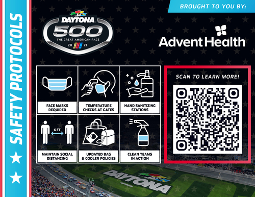 Daytona International Speedway Safety Protocols